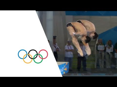 China Win Men's 10m Platform Diving Gold - London 2012 Olympics
