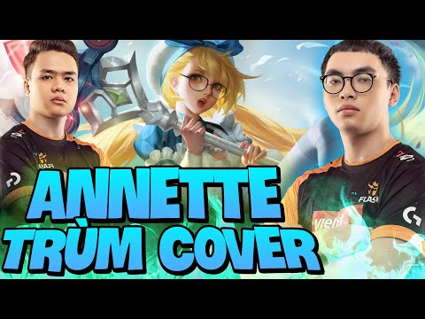 Annette Trùm Bảo Kê Trong Tay ProE Cover Siêu Xạ Thủ Daim Huỷ Diệt Rank Việt!!!