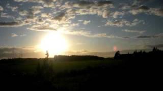 sunset timelapse 10fps