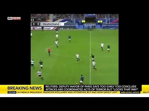 WATCH: Paris Stadium Explosion was Caught on Camera