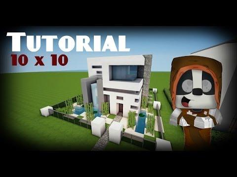 Minecraft como hacer una casa for Casa moderna minecraft 0 10 4
