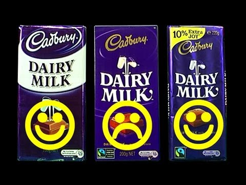 consumers - Yep I was a very Angry Bird when Cadbury reduced their 250g family block to 200g. This downsize was sinister and raised a number of chocolate lovers eyebrows...