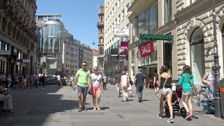 Vienna Austria  City new picture : Shopping streets in Vienna (Wien) - Austria (4K Ultra HD)