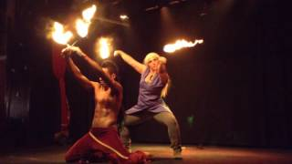 An act created for Qi-POW! Burlesque and Cabaret Cosplay show at the Pearl in Shanghai, China June 2016. Featuring: Mandy...