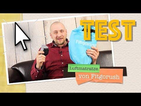 GENIALE LUFTMATRATZE IM TEST 🏕 CAMPING / TRACKING