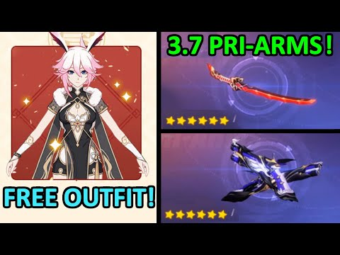 3.7 Pri Arms Explained FREE Kasumi Outfit NEW Dev Q&A видео
