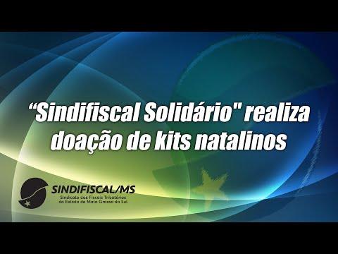 """""""Sindifiscal Solidário"""" realiza doação de kits natalinos"""