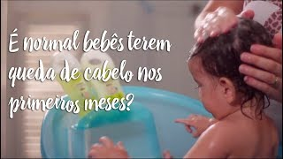 Fica a Dica - É normal bebês terem queda de cabelo nos primeiros meses?