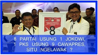 Video 8 Partai Usung 1 Jokowi, 1 PKS Usung 9 Cawapres, Situ Ngelawak? MP3, 3GP, MP4, WEBM, AVI, FLV Mei 2018