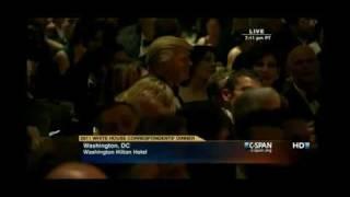 President Obama Roast Donald Trump About Birth Certificate&Celebrity Apprentice