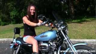 10. Used 2007 Harley-Davidson XL1200C Sportster 1200 Custom for sale