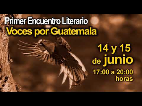 Primer Encuentro Literario Voces por Guatemala