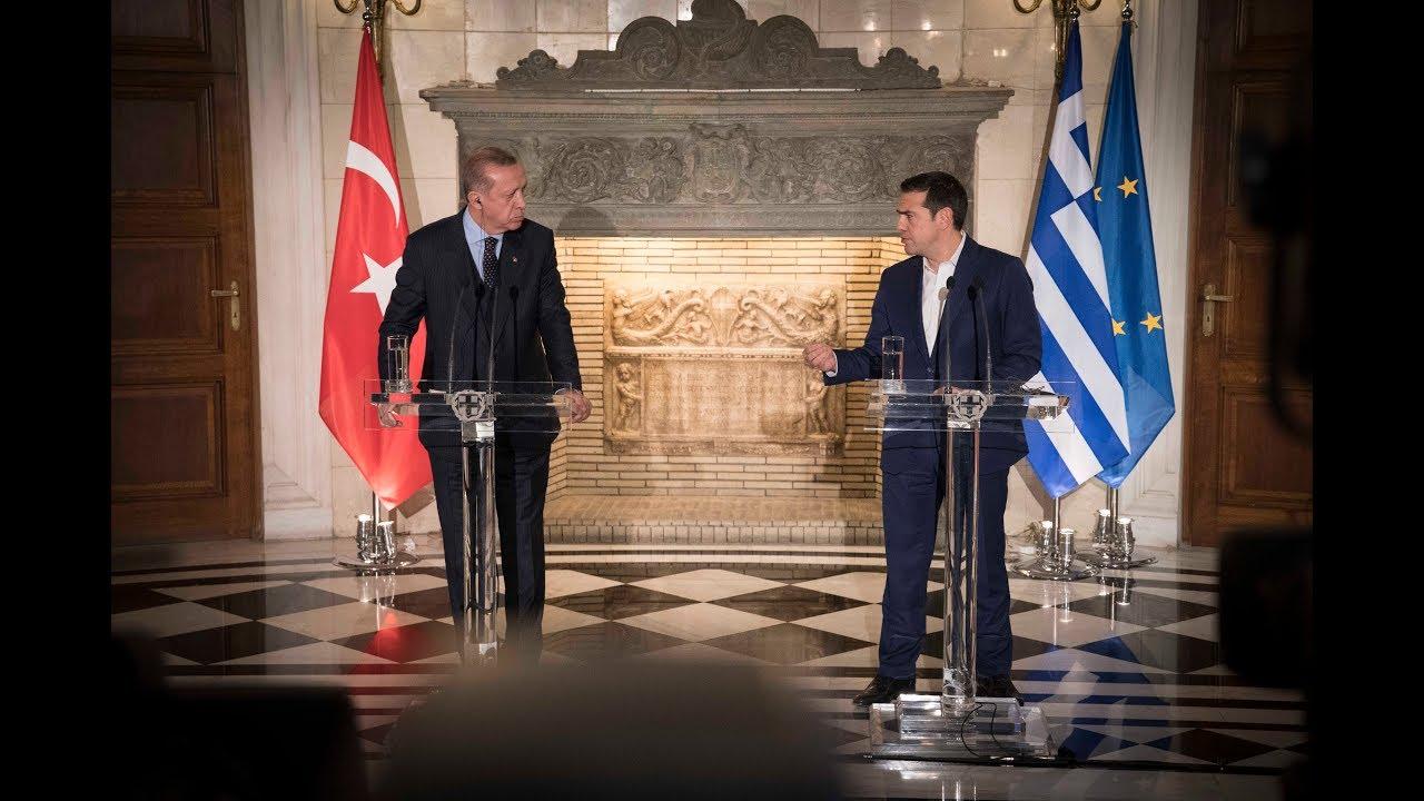 Απαντήσεις στη συνέντευξη τύπου με τον Πρόεδρο της Τουρκίας κ. Ερντογάν
