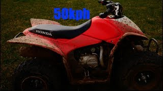 10. Honda TRX 90 top speed and review