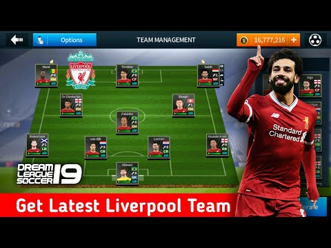 Create Liverpool Team ★ Kit Logo & Players ★ Dream League Soccer 2018