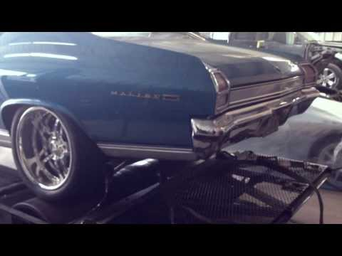 1969 Chevelle/Malibu Supercharged LSX LSA Engine on the dyno