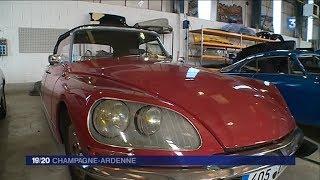 """L'atelier de restauration """"Reims Classic Auto"""""""