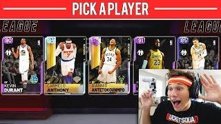 THE DRAFT! NEW GAMEMODE IN NBA 2K19!!
