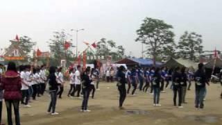 Chung kết chacha tập thể HHT 2011