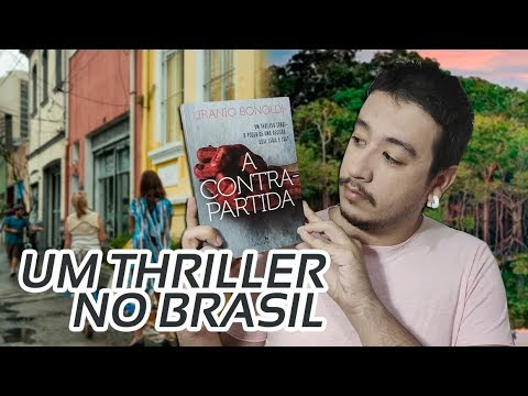 A CONTRAPARTIDA, um belo thriller nacional | Mil Páginas #publi