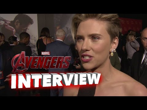 "Marvel's Avengers: Age of Ultron: Scarlett Johansson ""Black Widow"" Premiere Interview"
