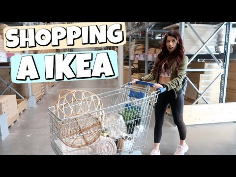 Shopping à IKEA