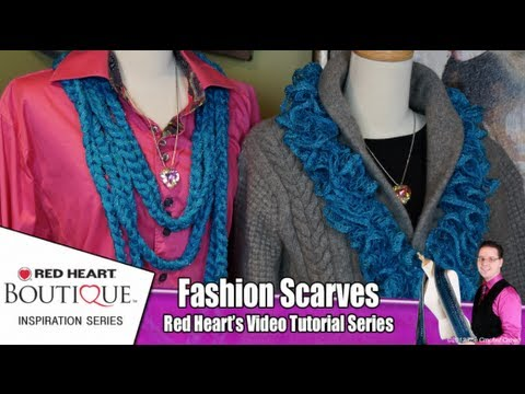 New and Improved Sashay/ Ruffle Scarf pattern by Cre8tion