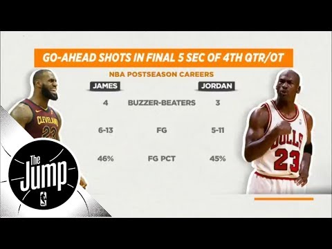 Is LeBron James as clutch as Michael Jordan? | The Jump | ESPN