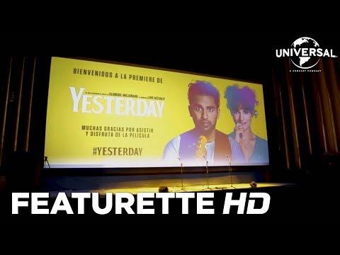 Yesterday - Premiere en Madrid?>