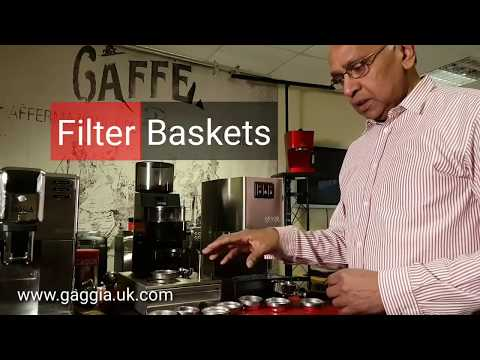 Gaggia Classic Filter Baskets