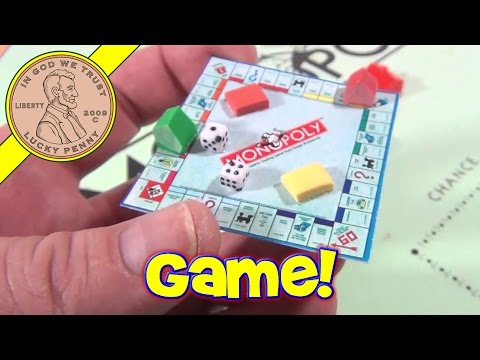 Mini Spielautomat monopoly