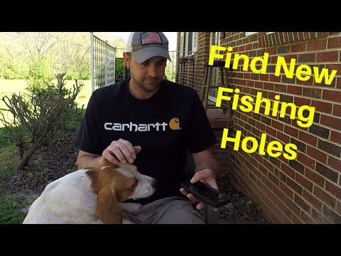 NEED A NEW  FISHING HOLE?-  THERE'S AN APP FOR THAT (видео)