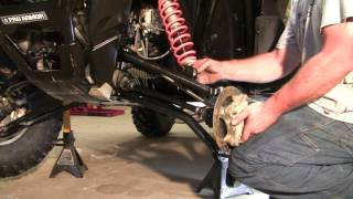9. Installing the HighLifter Front Forward High Clearance Control Arms!
