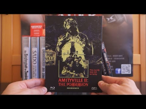 AMITYVILLE II - THE POSSESSION (AT Blu-ray Mediabook Cover D) / Zockis Sammelsurium Nr. 1392