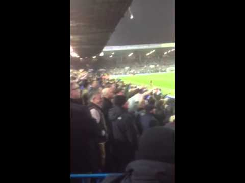 Chelsea fans away at Leeds 2012 jimmy saville chant