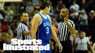 Grayson Allen Shoves FSU Assistant After Chasing Loose Ball | SI Wire | Sports Illustrated