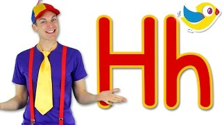The Letter H Song   Learn The Alphabet