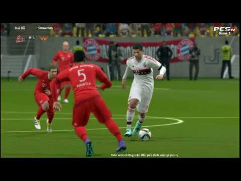 [PES 2016] [ST] Hải Đỗ vs [AOA] Snowman | Showmatch 1vs1 | 18/8/2016