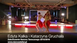 Edyta Kałka&Katarzyna Gruchała na Zakończeniu Sezonu Tanecznego