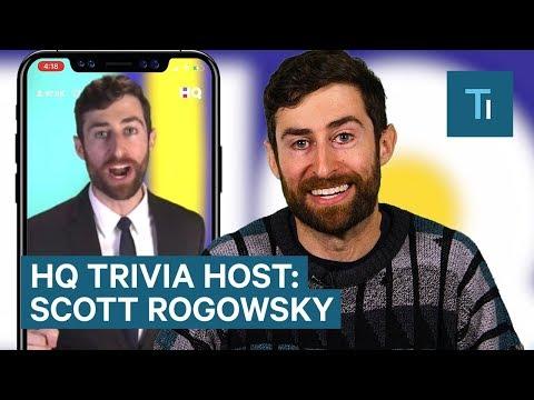 Meet Scott Rogowsky — The Host Of HQ Trivia