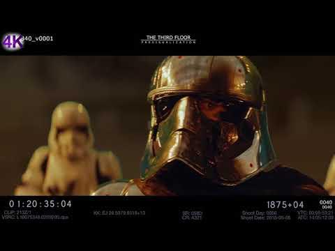 Star Wars: Episode VIII - The Last Jedi -  4K - Deleted Scene - Phasma's End