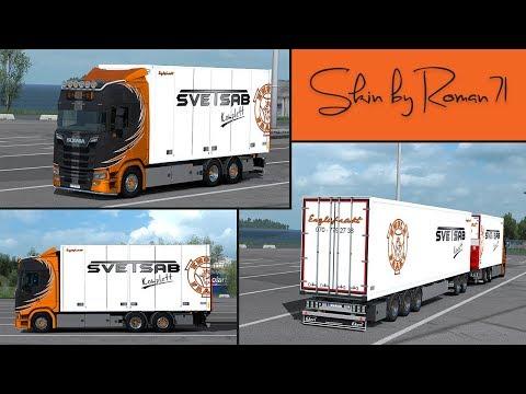 Scania NG S Englafrakt skin 1.32.x