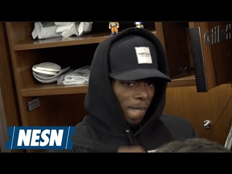 Video: Josh Gordon Patriots vs. Titans Week 10 Locker Room