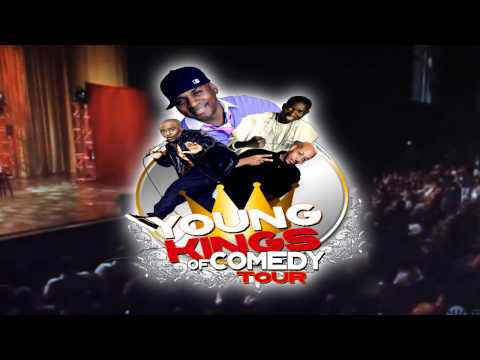 YOUNG KINGS OF COMEDY STARRING TONY ROBERTS, MICHAEL BLACKSON, ALEX THOMAS, MIKE BROOKS