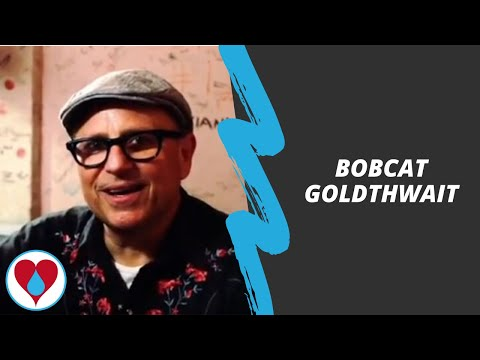 Bobcat Goldthwait at the Laughter is the Best Medicine benefit show for Drop in the Bucket