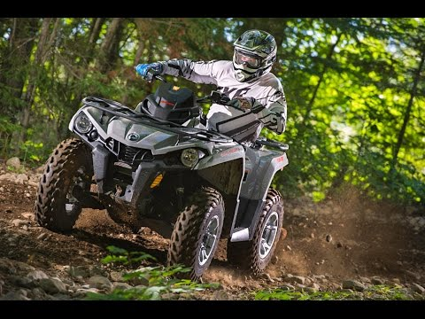 TEST RIDE: 2015 Can-Am Outlander L 500