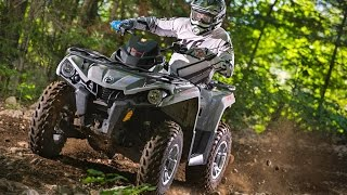 8. TEST RIDE: 2015 Can-Am Outlander L 500