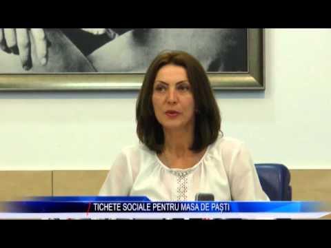 TICHETE SOCIALE PENTRU MASA DE PAȘTI