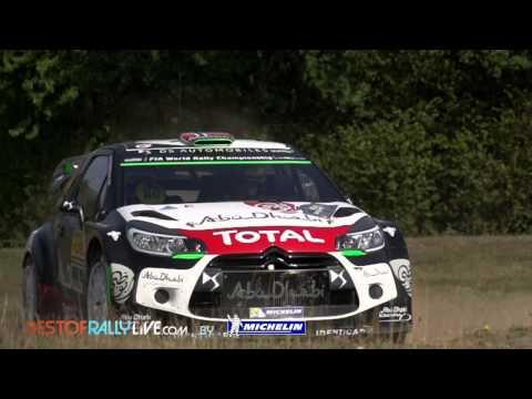 Vídeo mejores imágenes jornada 2 WRC Rallye Alemania 2015