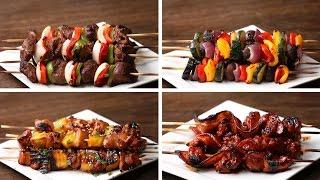 Skewers 4 Ways by Tasty